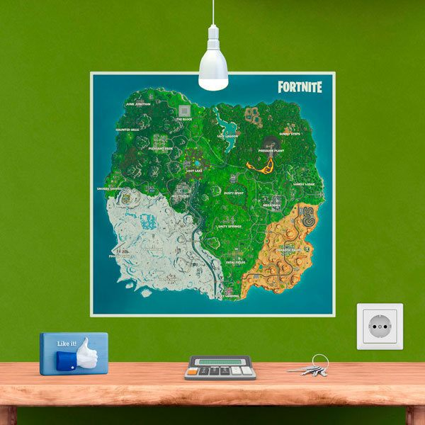 Vinilos Decorativos: Fortnite Season 10