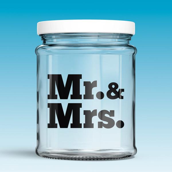Vinilos Decorativos: Mr. & Mrs. 0