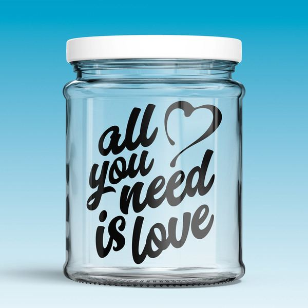 Vinilos Decorativos: All you need is love 0