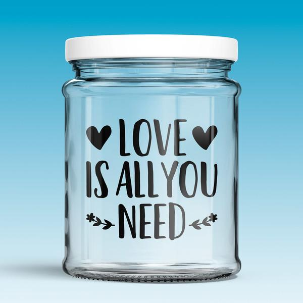 Vinilos Decorativos: Love is all you need