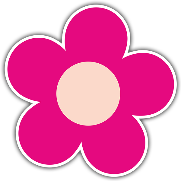 Vinilo Decorativo Flor