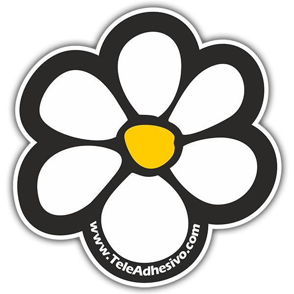 Pegatina flor teleadhesivo surfera - Teleadhesivo vinilos decorativos espana ...