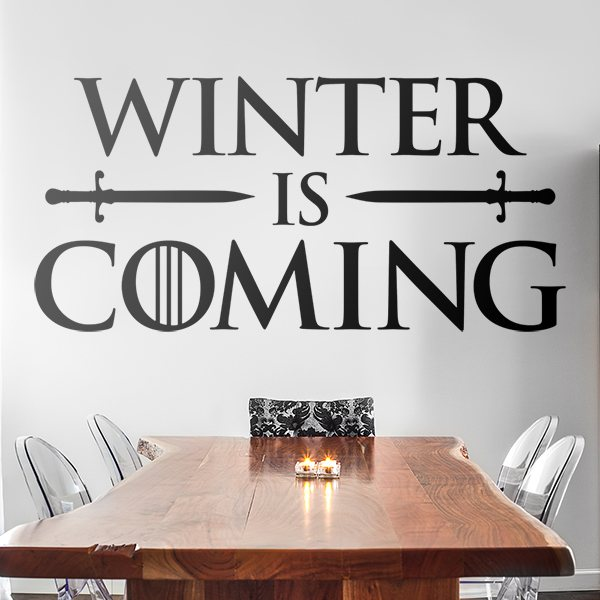 Vinilos Decorativos: Winter is coming