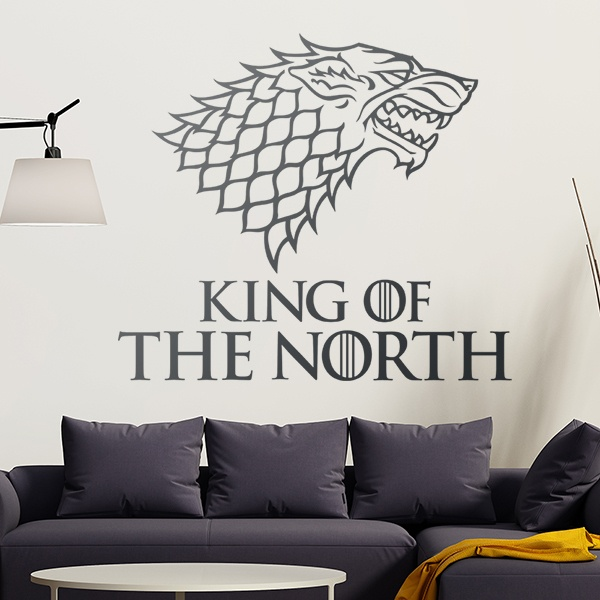 Vinilos Decorativos: King of the North
