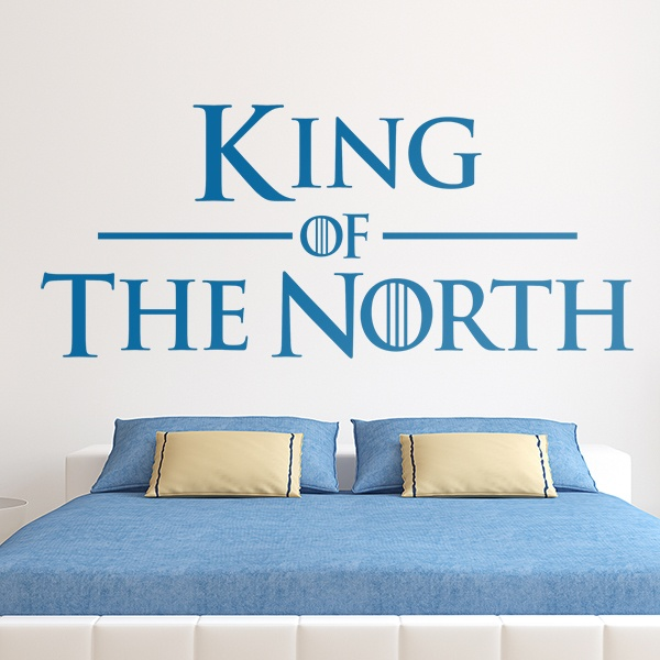 Vinilos Decorativos: Cabecero King of the North