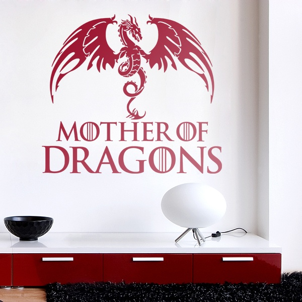 Vinilos Decorativos: Mother of Dragons