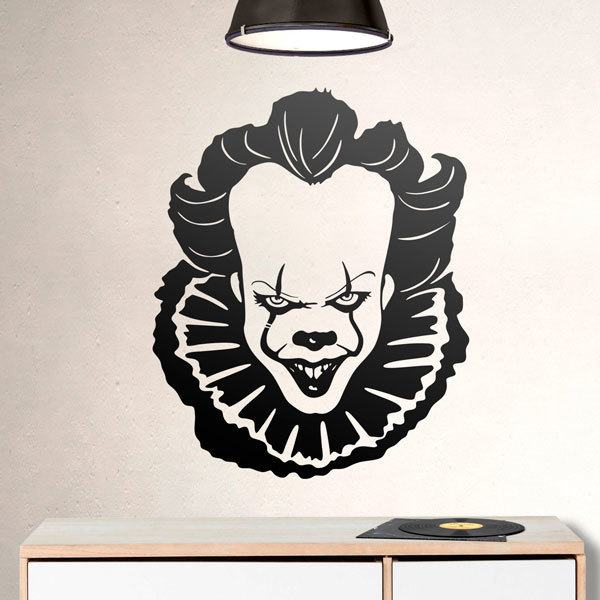 Vinilos Decorativos: Pennywise (It)