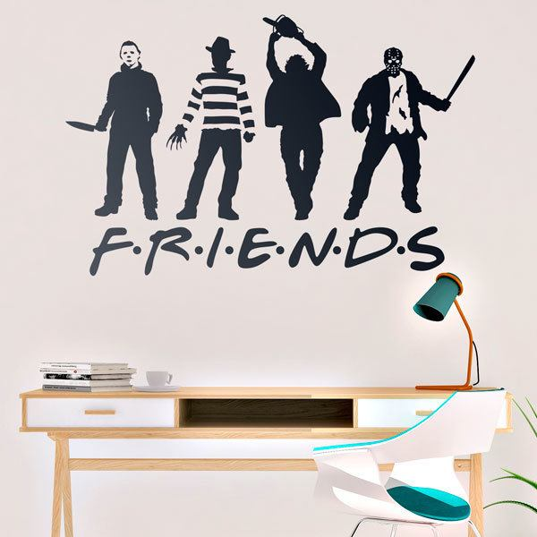 Vinilos Decorativos: Terror Friends