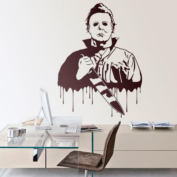 Vinilos Decorativos: Michael Myers (Halloween)