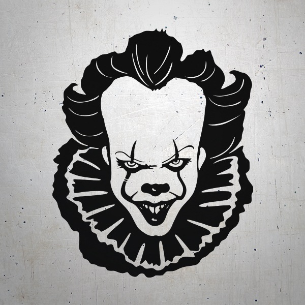 Pegatinas: Pennywise te acecha (It)