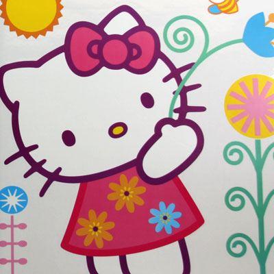 Hello kitty 2 68x96 cm for Vinilo hello kitty