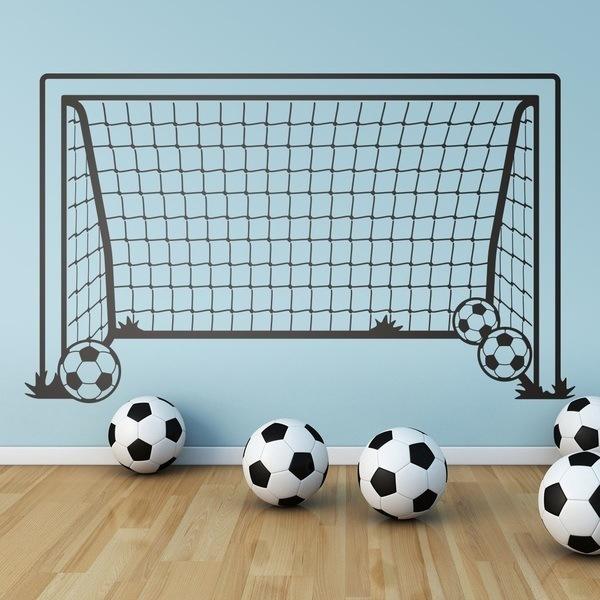 Vinilos Infantiles  Portería de fútbol d0575dc28e695