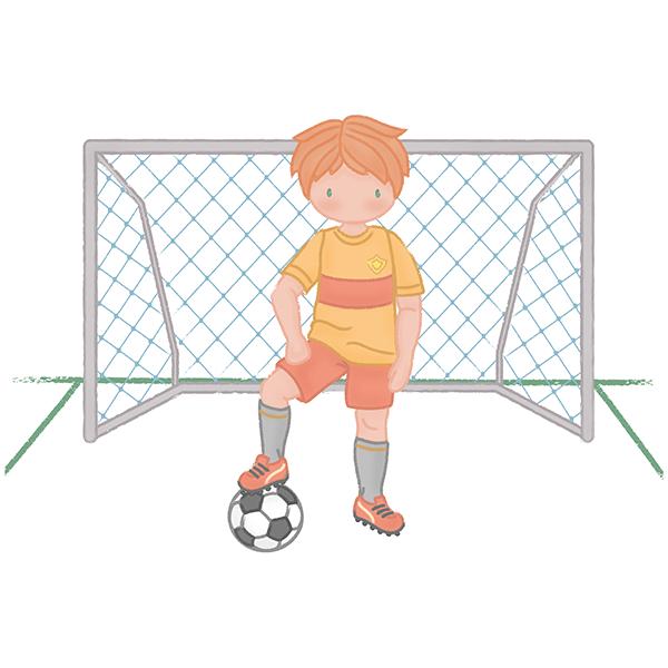 Vinilo decorativo infantil ni o futbolista for Vinilos infantiles nino