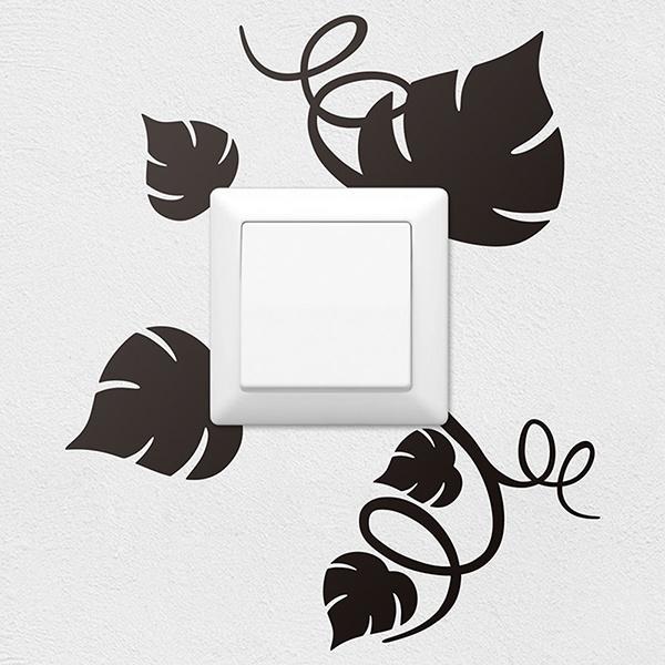 Vinilos para interruptores y enchufes teleadhesivo - Stickers decorativos ...