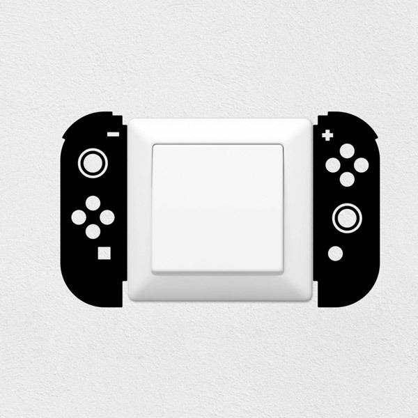 Vinilos Decorativos: Mando Nintendo Switch