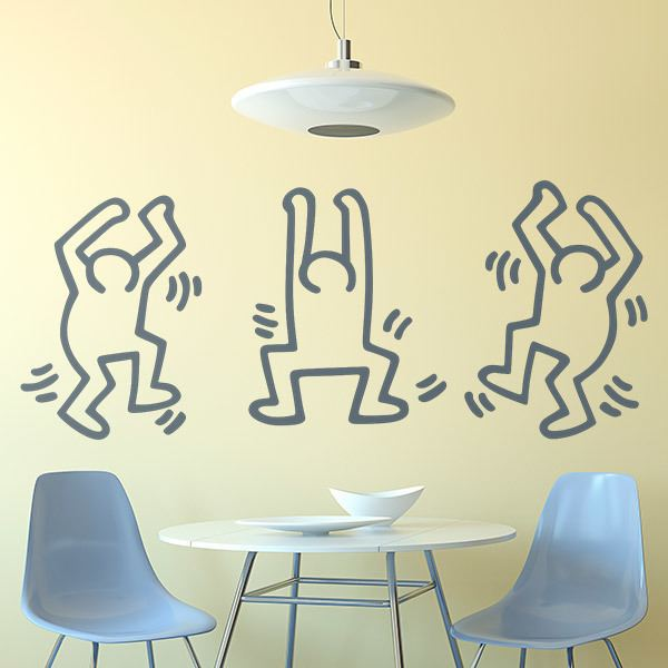 Vinilos Decorativos: Dancing Men 0