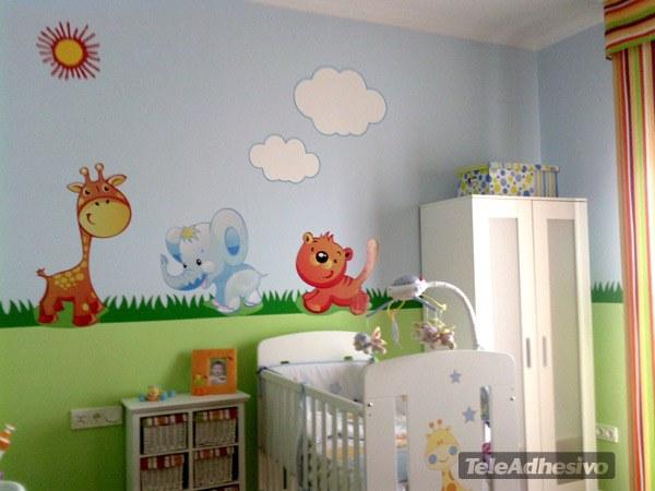decoraci n de cuartos con animales de la selva imagui