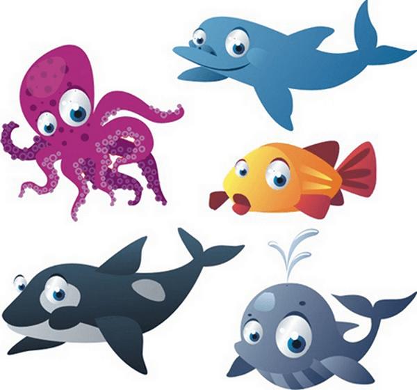 Kit de vinilo los peces mas grandes - Vinilos infantiles grandes ...