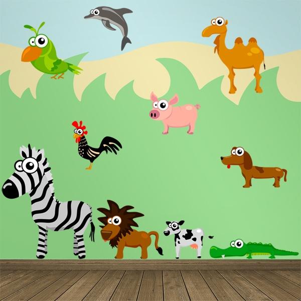 Kits de vinilos decorativos infantiles para ni os for Vinilos decorativos infantiles para pared