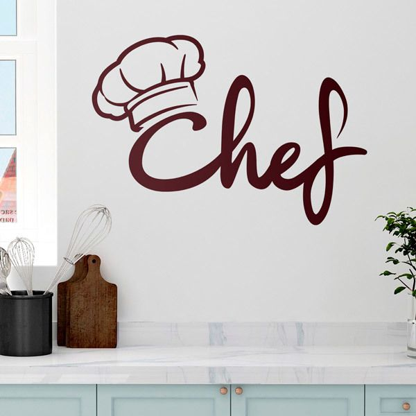 Vinilos Decorativos: Super Chef