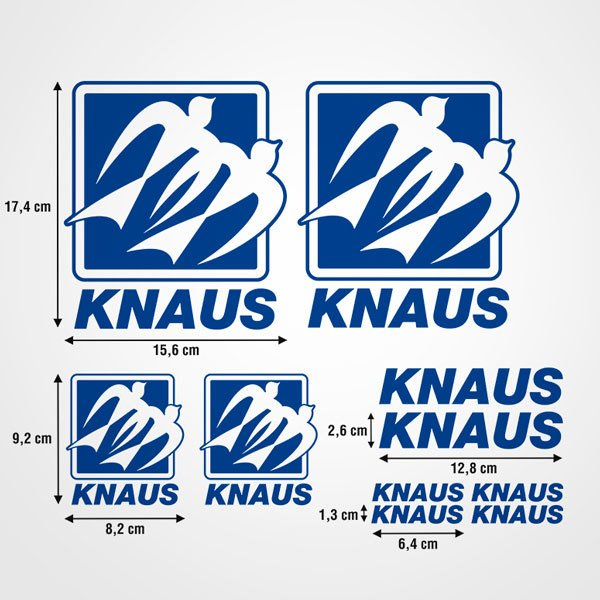 Pegatinas: Kit Knaus ultimate