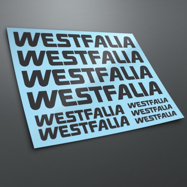 Pegatinas: Kit Westfalia 1