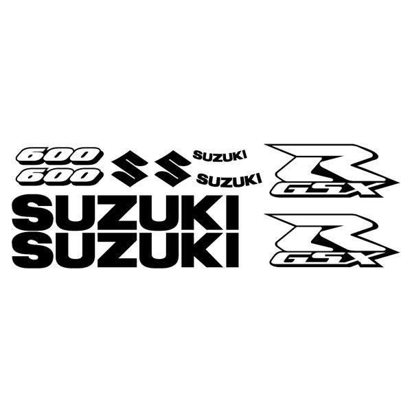 pegatina modelo suzuki gsxr 600 2006