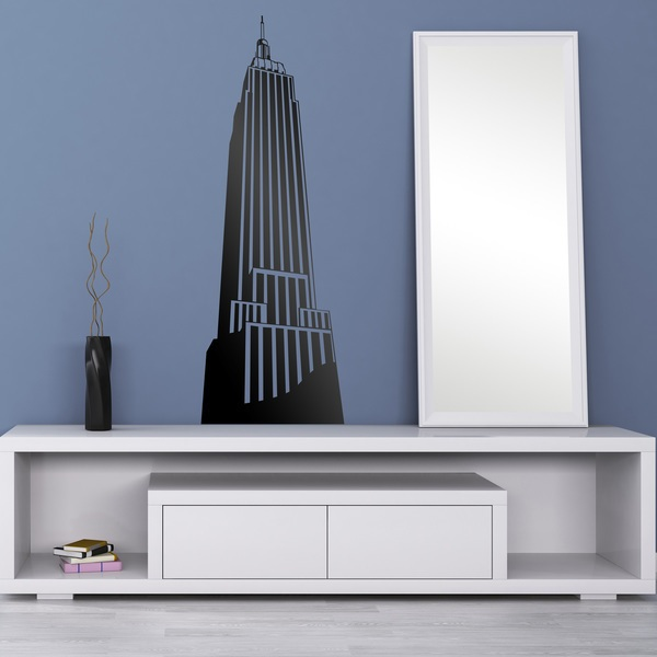 Vinilos Decorativos: Empire State Building