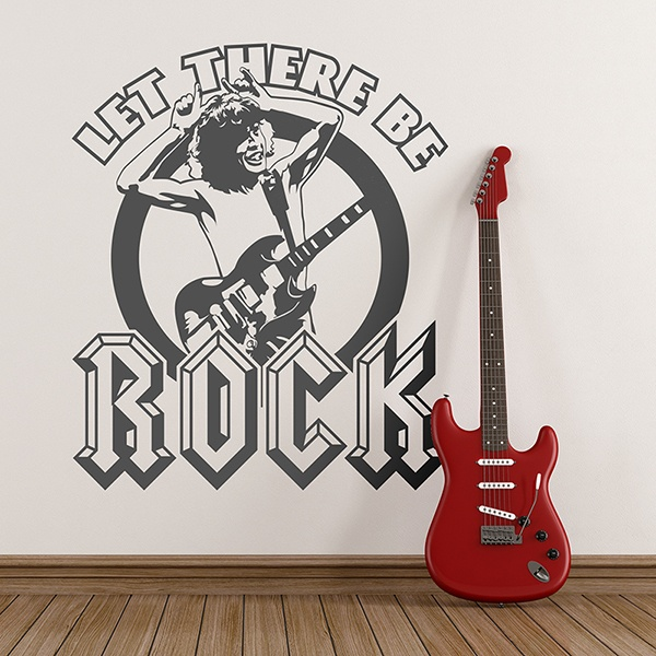 Vinilos Decorativos: ACDC Let There Be Rock
