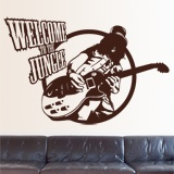 Vinilos Decorativos: Slash, Welcome to the jungle 2