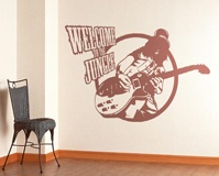Vinilos Decorativos: Slash, Welcome to the jungle 3