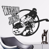 Vinilos Decorativos: Slash, Welcome to the jungle 4