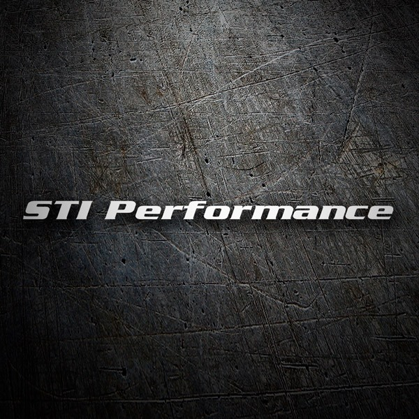 Pegatinas: STI Performance