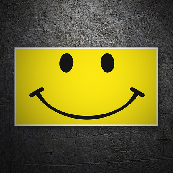 Pegatinas: Smiley