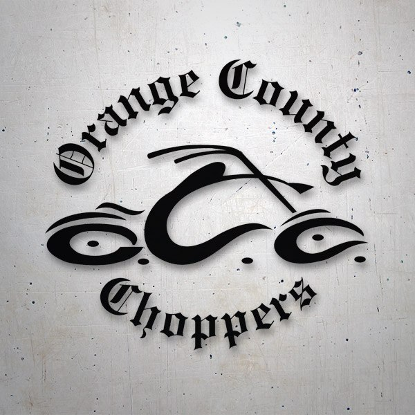 Pegatinas: Orange Country Choppers