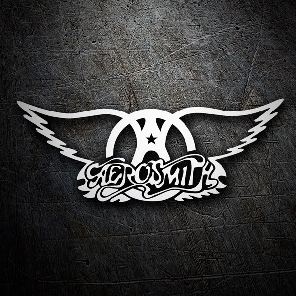Pegatinas: Aerosmith Rock Metal
