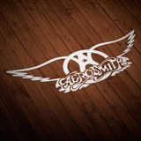 Pegatinas: Aerosmith Rock Metal 2