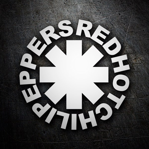 Pegatinas: Red Hot Chili Peppers