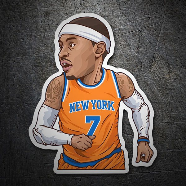 Pegatinas: NBA - Carmelo Anthony 1