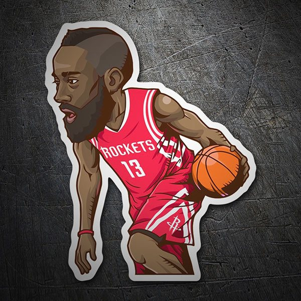 Pegatinas: NBA - James Harden