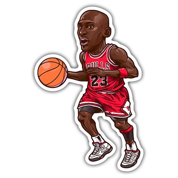 Pegatinas: NBA - Michael Jordan All-Star