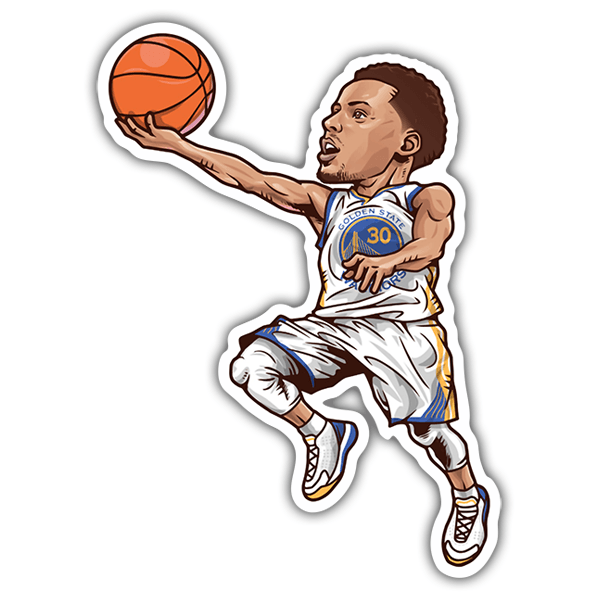 Pegatinas: NBA - Stephen Curry 0