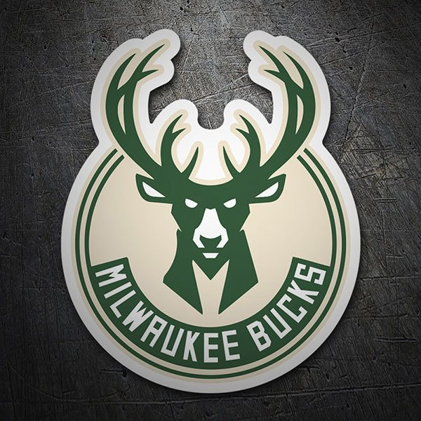 Pegatinas: NBA - Milwaukee Bucks escudo