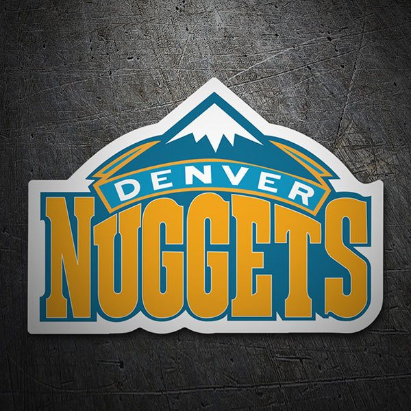 Pegatinas: NBA - Denver Nuggets escudo