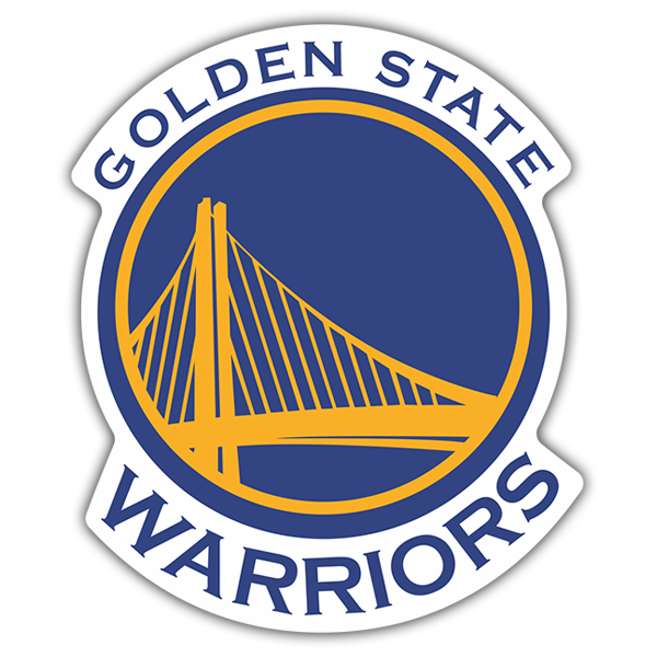 Pegatinas: NBA - Golden State Warriors escudo