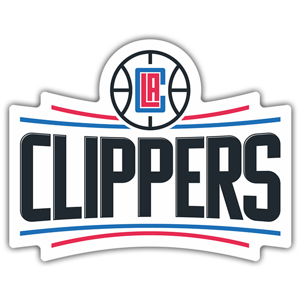 Pegatinas: NBA - Los Angeles Clippers escudo