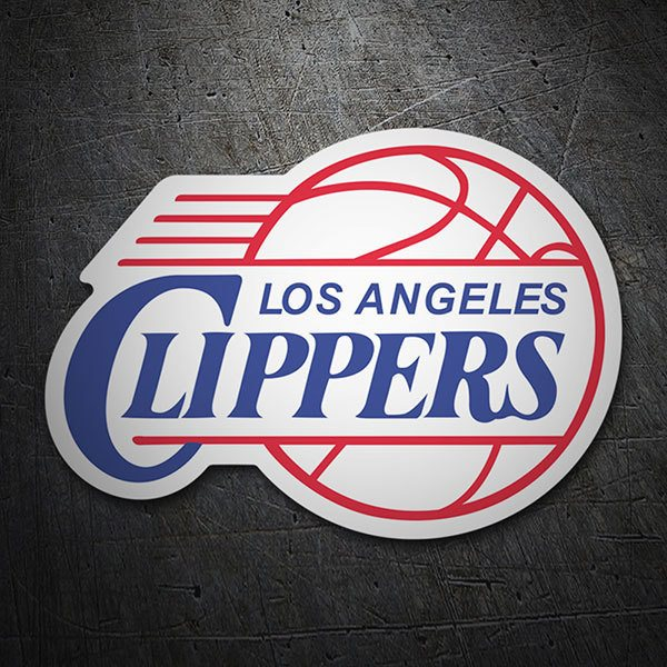 Pegatinas: NBA - Los Angeles Clippers escudo antiguo