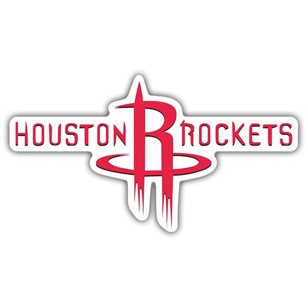 Pegatinas: NBA - Houston Rockets escudo