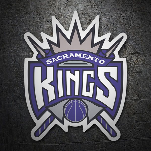Pegatinas: NBA - Sacramento Kings escudo antiguo
