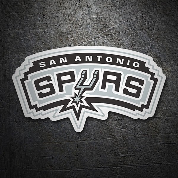 Pegatinas: NBA - San Antonio Spurs escudo antiguo